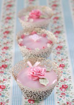 Cupcakes de Alta Costura® - Receta de Cupcakes de Cerezas
