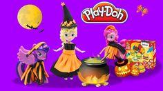 New Play Doh My Little Pony Elsa Queen in Halloween Make Twilight Sparkl...