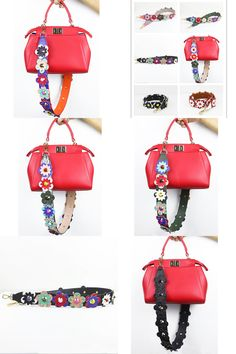 cd82a260be  Visit to Buy  Hot Sale Flower Handbag Accessories Strap Handle Belt Women Bag  Crossbody