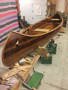 Wood Canoe, Wooden Kayak, Canoe Boat, Canoe Camping, Kayak Boats, Canoe Trip, Canoe And Kayak, Canoe Plans, Plywood Boat Plans
