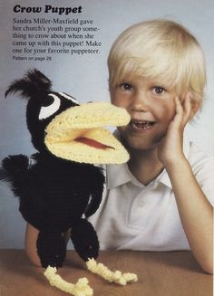 crochet parrot puppet | WR2062 Playful Puppets – Sewing, Needlecraft, Thread, Textile