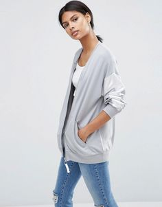 ASOS+Bomber+Jacket+with+Satin+Panels+in+Boxy+Fit+Jersey
