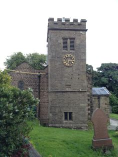 St Mary's church in Newchurch-in-Pendle
