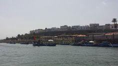 La côte de mer de Rabat