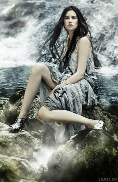 Selkie. Great pic except for the stupid shoes.