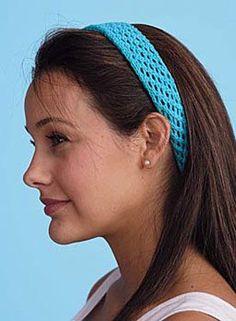 Lacy Headbands Pattern - Free Knitting Patterns by Kim Cameron