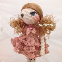 Muffin the doll 2014 | OHOPSHOP | We love handmade!