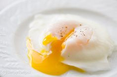 How to poach an egg, with great results every time! It's EASY! On SimplyRecipes.com