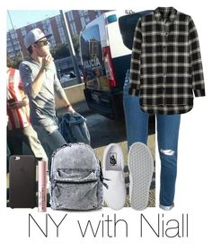 """NY with Niall"" by autumnfarmer on Polyvore featuring Paige Denim, Madewell, Vans and Too Faced Cosmetics"