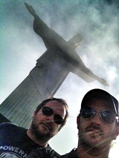 Jesus, Crowley, and Gabriel | (Mark Sheppard and Richard Speight Jr.)