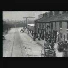 An old video taken of glossop High Street and surrounding Area Domesday Book, South Yorkshire, Old Video, Peak District, Sea Level, Derbyshire, Family History, Vintage Photos, Street