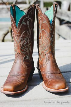 Square Toe Ariats (gotta be a REAL cowgirl to wear square toes!)