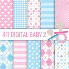 KIT DIGITAL CHÁ DE REVELAÇÃO BABY FREE PARA BAIXAR - Cantinho do blog