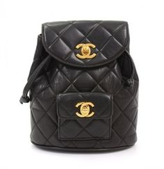Vintage Chanel Quilted Backpack