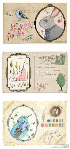 居住在伦敦的插画师LilyMoon单纯的画着她所喜欢的故事。梦中的城堡,与自己对话的兔子,懂得倾听的猫头鹰,她沉浸在自己所编织的童话世界里,享受着此刻的点滴快乐