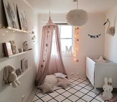 """3,676 Me gusta, 18 comentarios - Scandinavian Homewares (@istome_store) en Instagram: """"How pretty is this little girl's room by @idacmykle 👈🏻 VITA Eos light shade and Miffy lamp are all…"""""""