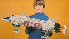 "Vintage 'Space 1999' - ""The Eagle transporter"" Mego Toy Spaceship"