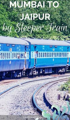 Night train to the land of kings... travel from Mumbai to Jaipur, Rajasthan by sleeper train. Read my review of the journey for tips. Want to know what train travel in India is like or love travel in India? Save this pin to one of your boards for later!
