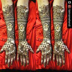 Bride: Farah Rashid #bridalmehndi #dulhanmehendi #hennatattoo #weddings #Casualmehendi #fatmasalon #fatmamehendiart #bride #weddings #fashion #weddingseason #weddinghenna #shadimehendi #planshadi #culturalweddings #bridalshower #shagunmehendi  Call @ 778 829 0781 or Visit us at Fatma's mehendi Hair and skin care salon. #2-9200, 120th street surrey