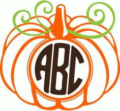 1000 images about cameo silhouette store designs on for Monogram pumpkin templates