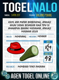 Kode Wangsit 5D Togel Wap Online TogelNalo Tanjung Pinang 2 April 2017