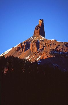 Lizard Head, San Juan Mountains, Colorado; photo by Russell Schnitzer