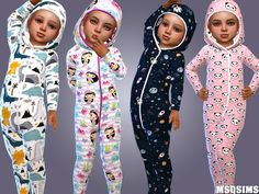 Toddler pyjama collection 01 at msq sims Toddler Cc Sims 4, Sims 4 Toddler Clothes, Sims 4 Cc Kids Clothing, Sims 4 Teen, Sims 4 Mods Clothes, Sims Four, Toddler Boy Outfits, Sims Cc, Kids Outfits
