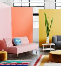 ARRO Home: The Nexus Sofa looking pretty in pink!