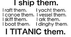 I imagine Moffat would be driving the Titanic into the iceburg of feels and it would sink into the pool of Fangirls tears, as moffat laughs as our OTPs run screaming and other authors/screen writers watch on in help boats, unsure what to do.<<for that comment XD