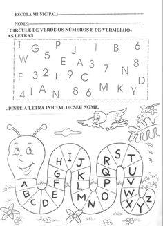 Mundinho da Criança - Atividades para Educação Infantil: Atividades com o Alfabeto