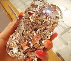 Amazing Decoden Bling Phone - there's a kit to make this yourself!