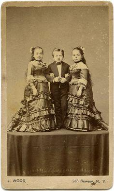 The Rice Family (midgets) - J. Wood