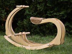 Cheval à bascule en bois pour enfants, bois, cadeau pour les enfants, jouet écologique en bois écologique, livraison gratuite