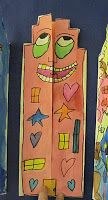 Folded and Painted James Rizzi House