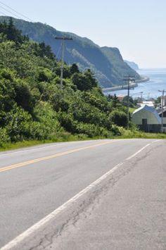 En Haute-Gaspésie. Photo : Tourisme Gaspésie.