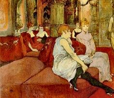 Moulin Rouge Toulouse-Lautrec Paintings | Henri Marie Raymond du Toulouse-Lautrec-Monfa (1864-1901) – Post ...
