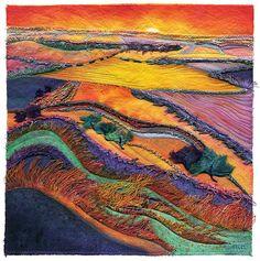 Потрясающая текстильная живопись Margaret M. Roberts - Ярмарка Мастеров - ручная работа, handmade