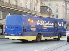 Bookmobile, Zagreb City Libraries, Croatia.