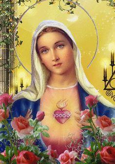 Santa Maria, mãe de Deus, rogai por nós, pecadores, agora e na hora do nosso encontro. Assim seja.