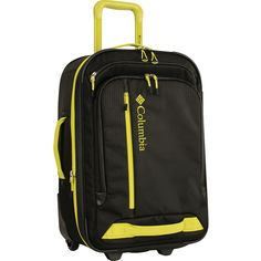 b2900df552b The durable, yet colorful, Columbia Yahara 28 Inch Expandable Wheeled  Suitcase is ideal for