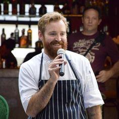El chef de @casafayette es Trevor La Preste y nos presenta cada uno de los platillos del menú de verano.