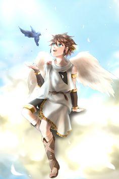Pit Kid Icarus Uprising Fan Art
