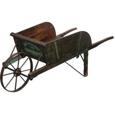 New England Painted Wheelbarrow ($1,125) ❤ liked on Polyvore featuring garden, accessories, farm and predmeti