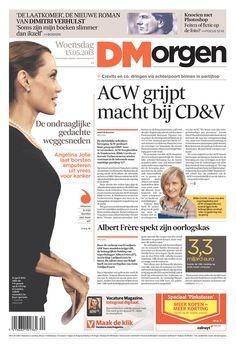 De Morgen, published in Brussels, Belgium