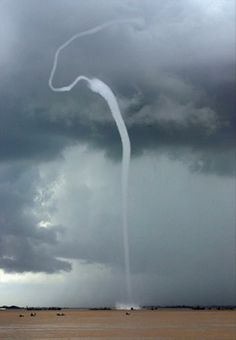tornado spout