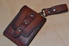 Leather Wallet-Men Wallet-Leather Card Holder von sergklim auf Etsy