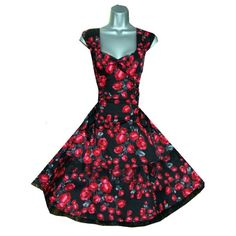 HR Lovely Roses Rockabilly Dress