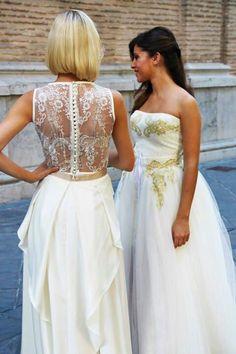 Dos vestidos para dos tipos de novia