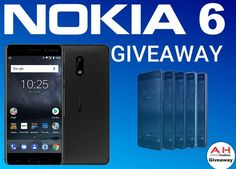Win a $400.00 Nokia 6 smartphone. Enter now and get additional entries for completing activities.