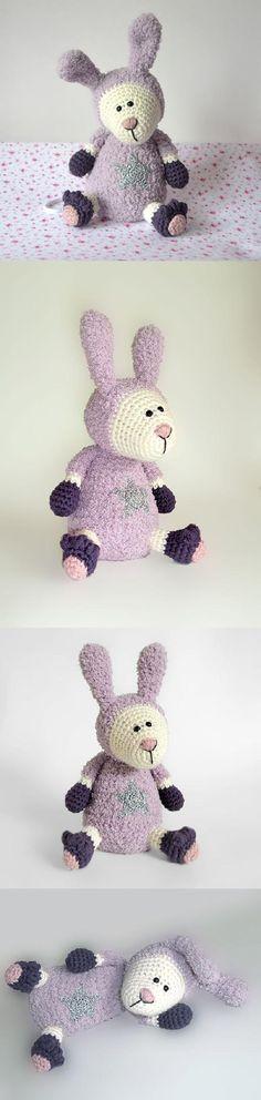Twinkle Rabbit Amigurumi Pattern